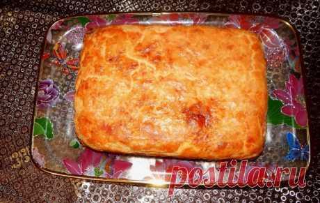 Пирог с капустой на сметане - Простые рецепты Овкусе.ру