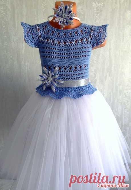 . Комбинированные платья - 2 - Вязание - Страна Мам