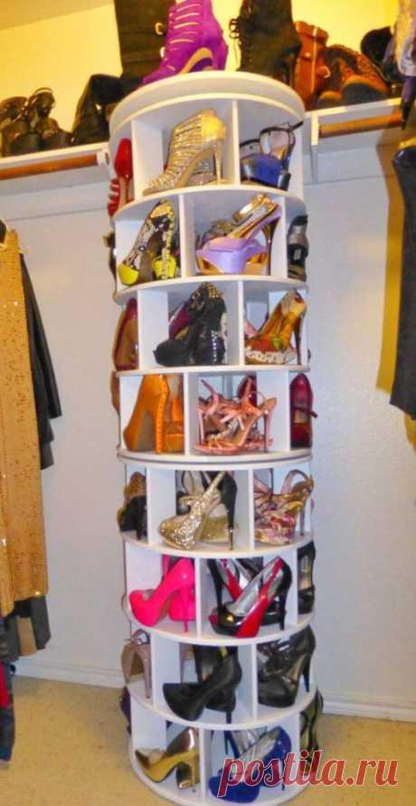 Как хранить обувь: 20 интересных идей ~ ALL-DEKOR