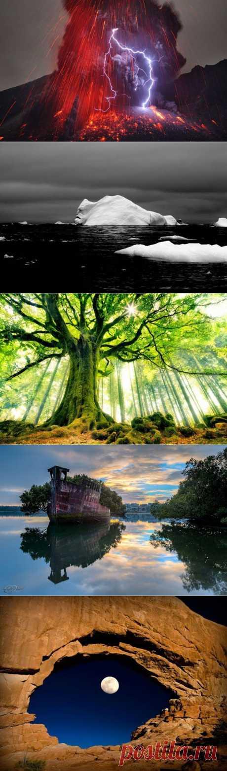 Потрясающие фото природы / Туристический спутник