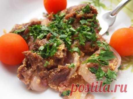 Живите вкусно! Запечённая говядина в гранатовом соусе — Фактор Вкуса