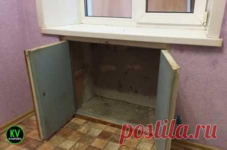 Хрущевский холодильник. Простые и не простые варианты, что можно с ним сделать ????