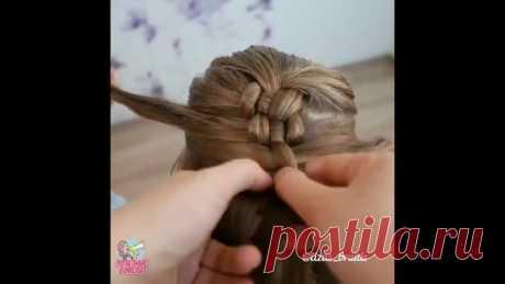 #Бери#и#Делай# Необычное плетение косички  Я сохранила видео к себе и научилась