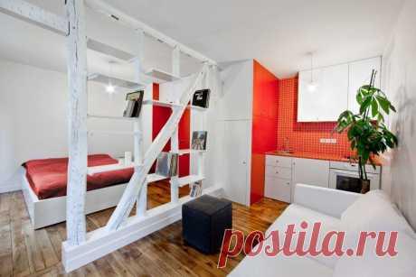 маленькие квартиры: современные и стильные