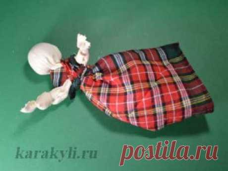 Как сделать куклу ребенку за пару минут
