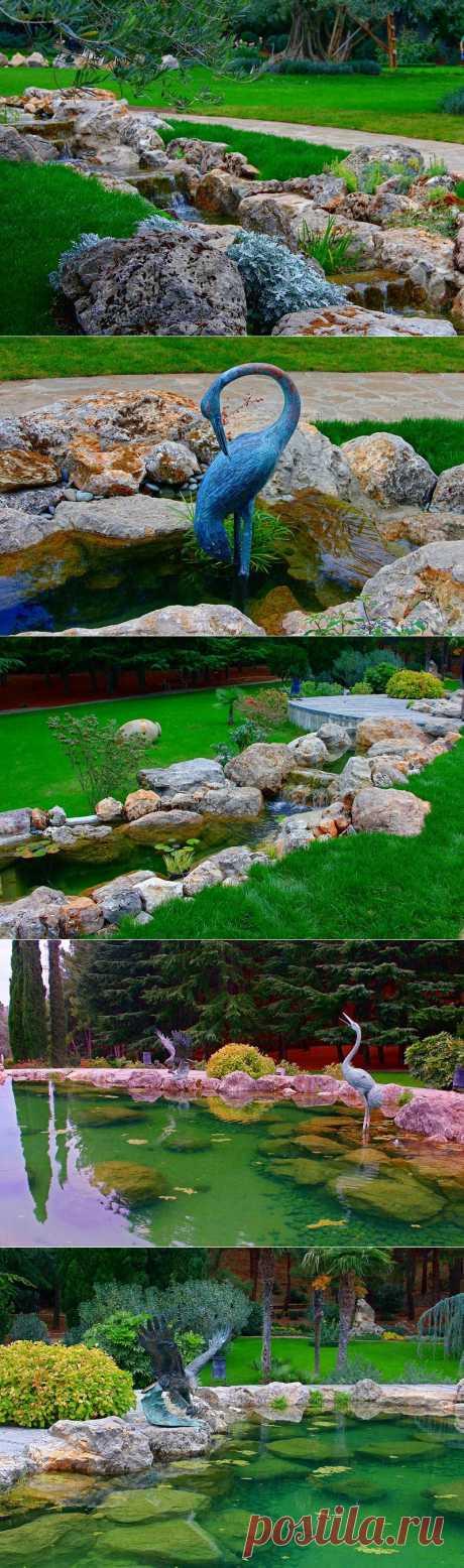 Парк «Парадиз» - райский уголок. Партенит, Крым..