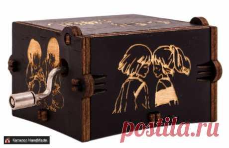 Шкатулка музыкальная 'Spirited Away' купить в Беларуси HandMade, цены в интернет магазинах