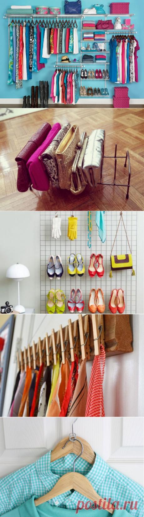 Наводим порядок в шкафу: пошаговая организация вещей — Полезные советы