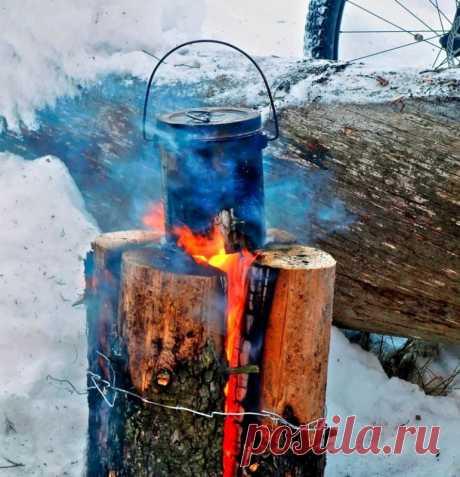 Шведская или финская свеча как простой и экологичный способ создания костра — Полезные советы