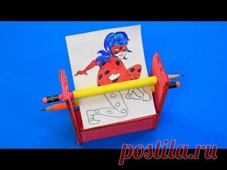 Волшебный Чудо Принтер - YouTube Как сделать из картона волшебный принтер своими руками.
