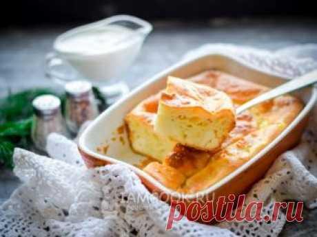 Пирог из кабачков с сыром.