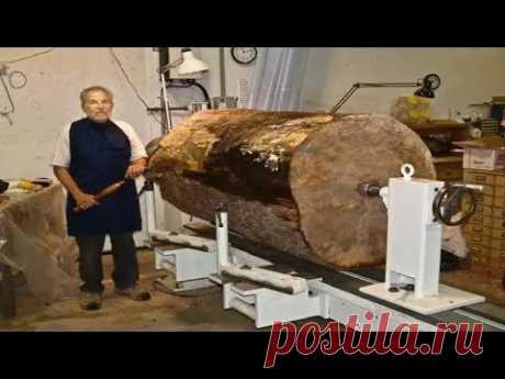Каждый должен увидеть видео этого столяра плотника. - Современная резка по дереву.