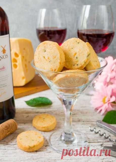 Сырное печенье с тимьяном