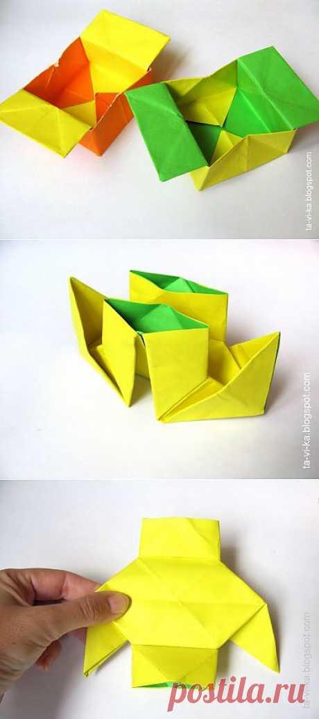 El cuento del origami sobre el campesino.