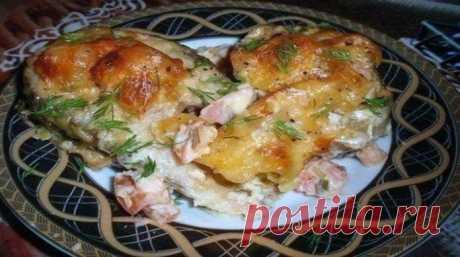 Вкусная рыба по-гречески - ochenvkusno.com