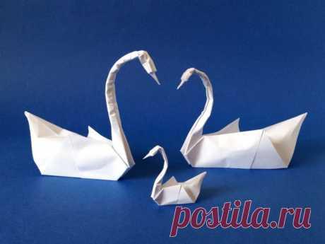 Как сделать лебедя из бумаги оригами — инструкция Есть масса вариантов, как сделать лебедя из бумаги. Самый простой вариант из салфеток. Оригами из бумаги лебедь схема. Для праздничного стола подойдёт