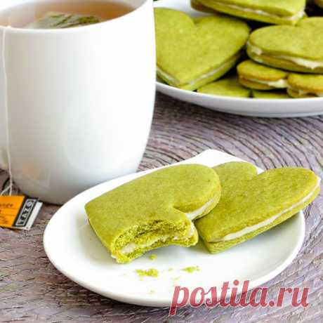 Cooking Zone - Медовое печенье с зеленым чаем (версия для печати)