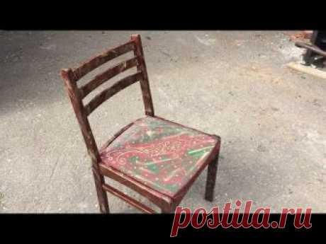 La restauración de la silla | la Vida nueva a las cosas viejas