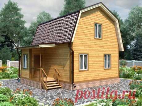 Строительство дачных домов из бруса под ключ в Санкт-Петербурге, проекты.