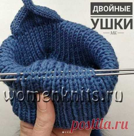 Double ears for a children's hat spokes