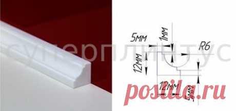 СУПЕРПЛИНТУС ДЛЯ ВАННЫ - АРТ.СП 7: изящный плинтус для ванны