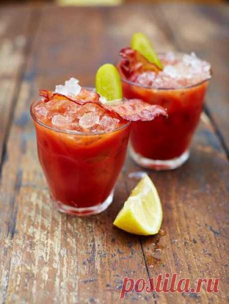 Кровавая Мэри рецепт Barbecoa | Рецепты Джейми Оливера