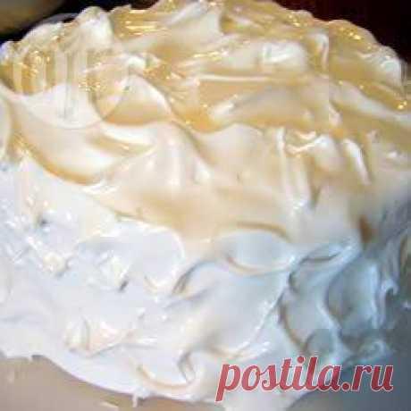 Egg whites glaze (Scalded meringue)