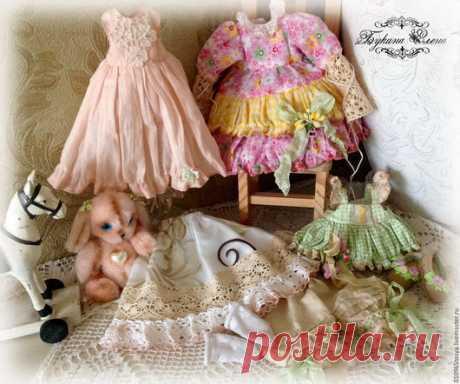 Купить Веснушка - озорница. Коллекционная авторская текстильная кукла. - зеленый, желтый, рыжая кукла