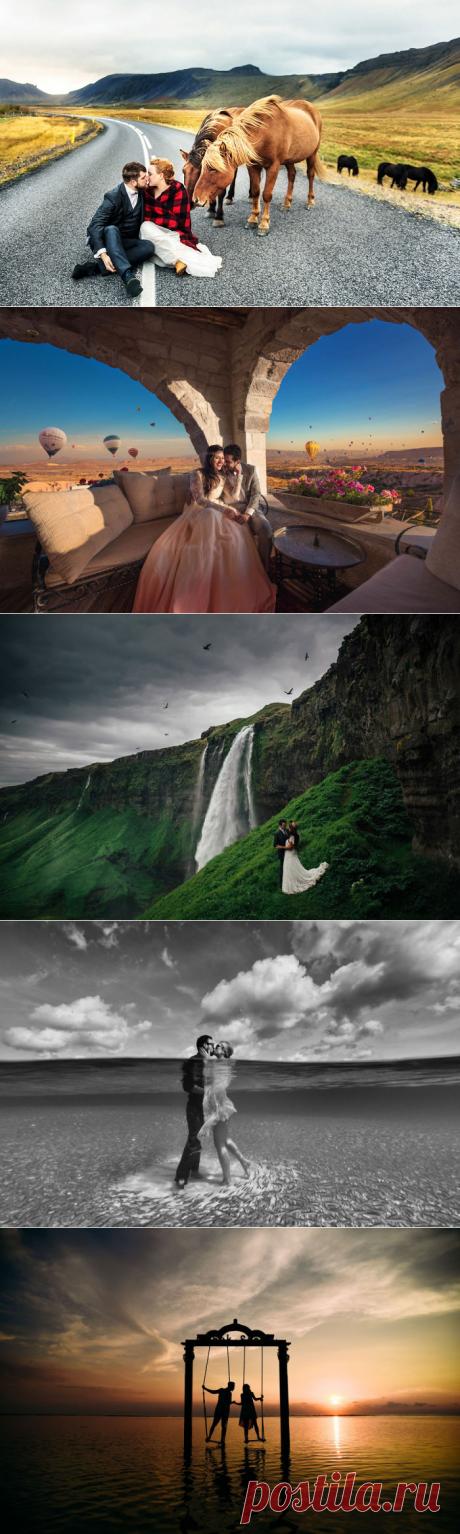 20 самых ярких свадебных фотографий, сделанных в разных уголках мира