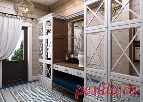 Дом недели: деревянный коттедж в стиле кантри | Свежие идеи дизайна интерьеров, декора, архитектуры на INMYROOM