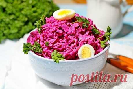 Вечерний салат из свеклы и яиц: худеем без диет до 10 кг за месяц | Диеты со всего света