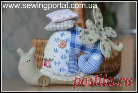 El caracol la tilde por las manos | Sewing Portal