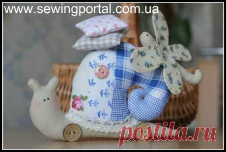 Улитка тильда своими руками | Sewing Portal