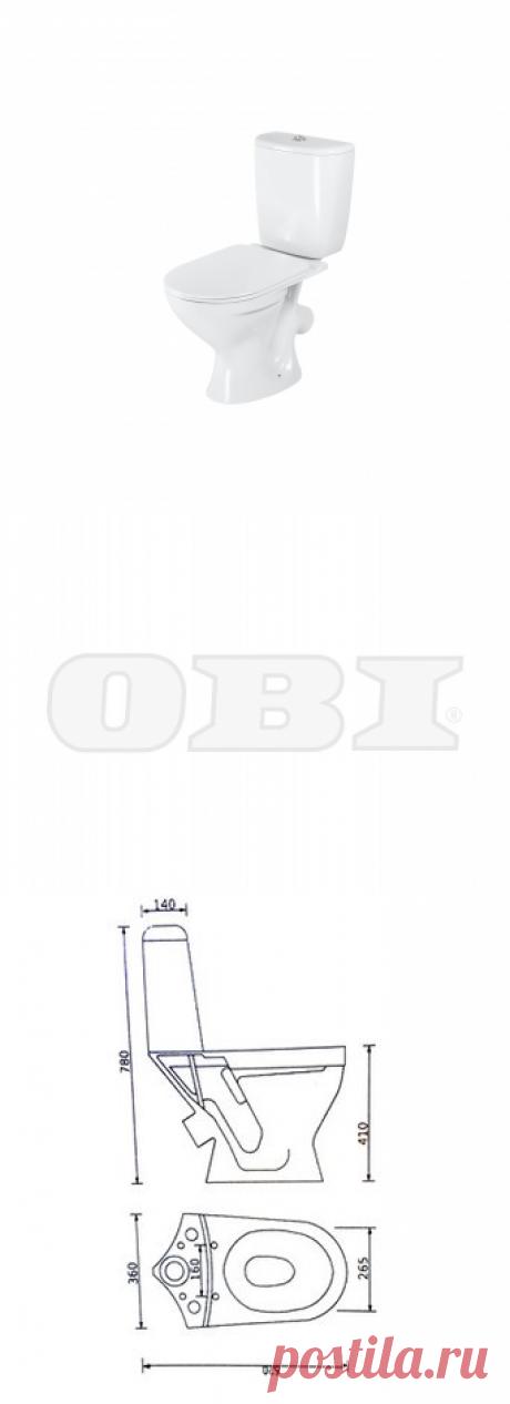 Унитаз напольный MITO NICK купить по цене 2299 руб. в ОБИ