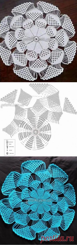 Excelente Crochet Patrón De Soporte Del Gancho Motivo - Manta de ...