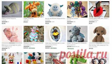 Если вы вяжете игрушки крючком: тренды продаж за границу | Вязание и творчество | Яндекс Дзен