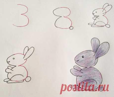 Рисунки с помощью цифр: необычный способ научиться рисовать