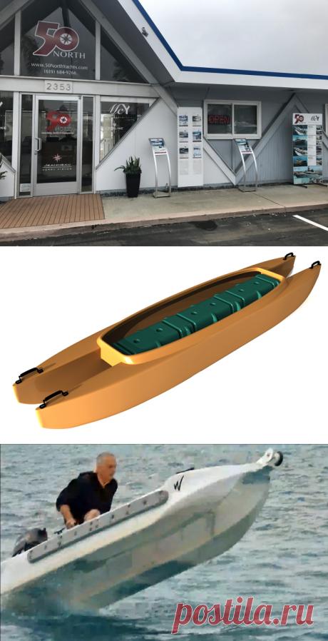 Das schnellste Kajak der Welt ist natürlich auch das stabilste Kajak - boat