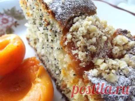 Абрикосовый пирог с маком!