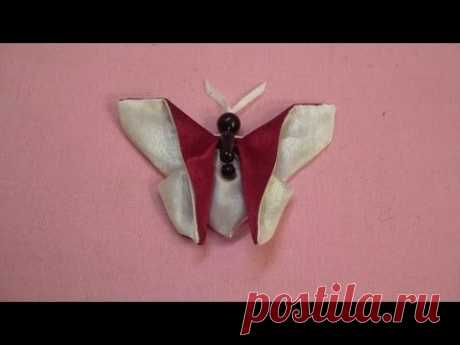 "Рукоделие оригами (origami) из ткани ""Бабочка"""