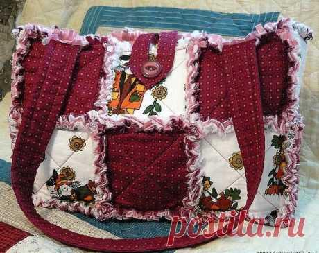 Лоскутная сумка своими руками: летняя сумка в технике японский пэчворк art-textil.ru