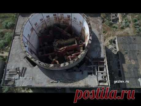 Заброшенна Крымская атомная станция