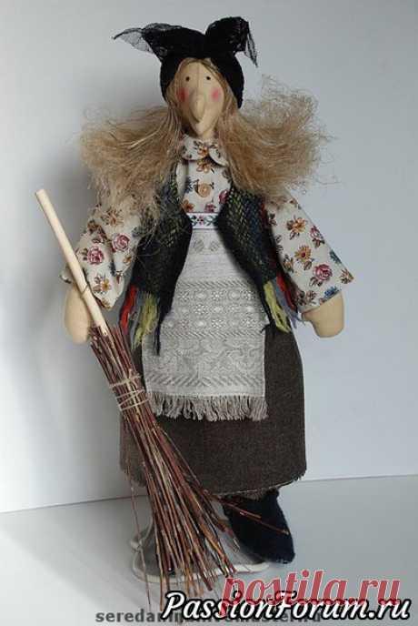 La aventura de muñeca - 2. Cosemos a la Tía Yagu - la anotación del usuario veda (Elena Belsky) en la comunidad el Mundo del juguete en la categoría la Aventura muchos patrones a las abuelas de Ezhkam