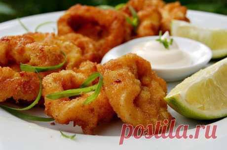 Кальмары в кляре - лучшие рецепты. Как правильно и вкусно приготовить кальмары в кляре