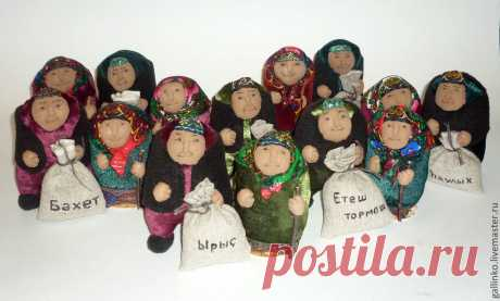 Башкирские дедушки – купить в интернет-магазине на Ярмарке Мастеров с доставкой - 3FIZ1RU | Магнитогорск