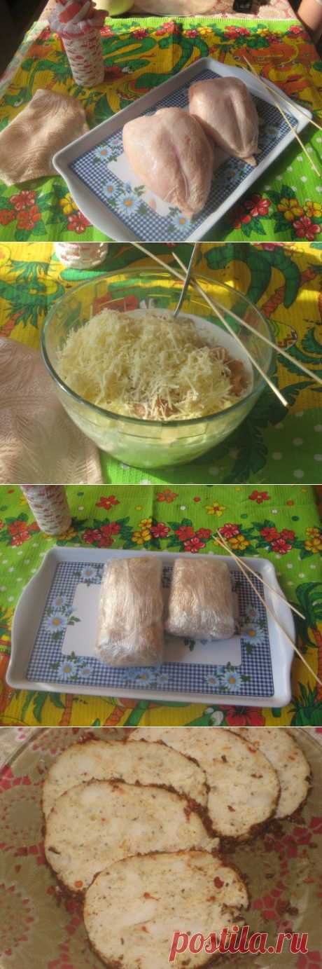 Колбаса домашняя )куриная) | Четыре вкуса