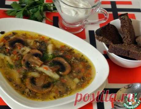 Грибной суп с клёцками – кулинарный рецепт