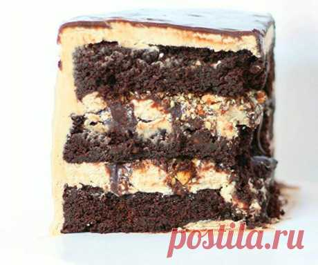 Рецепт миндально-шоколадного торта.