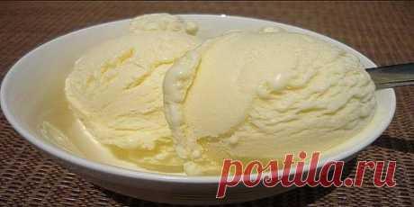 Домашнее мороженное- вкус советского пломбира