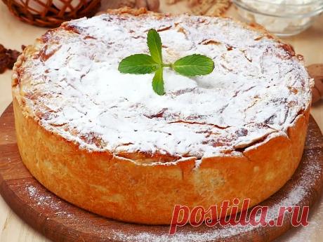 Приготовила уже 3 раза в новом году! Пирог, который покорил всех, жаль, что не знала рецепт раньше | PripravaClub - кулинарный канал | Яндекс Дзен